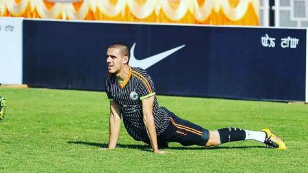 Nedo Turkovic, penyerang Bosnia yang dilepas oleh tim Perseru Badak Lampung FC. - INDOSPORT