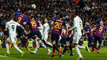Real Madrid alami nasib sial bertubi-tubi jelang laga LaLiga Spanyol bertajuk El Clasico kontra Barcelona. - INDOSPORT