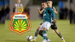 Indosport - Gelandang asing anyar Bhayangkara FC asal Brasil, Esquerdinha.