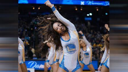 Cheerleaders Golden State Warriors - INDOSPORT