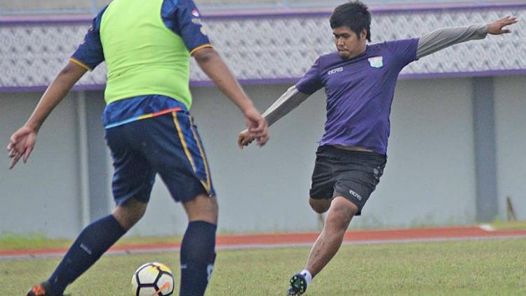 Kapten Persita Tangerang, Egy Melgiansyah dalam persiapan jelang Piala Presiden 2019. Copyright: Media Persita