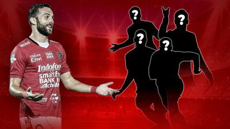 6 Pemain yang pernah membela Bali United dan Mitra Kukar. - INDOSPORT
