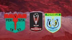 Indosport - Persita Tangerang vs Persela Lamongan