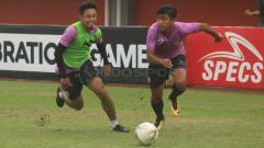 Indosport - Uji lapangan PSS Sleman di Stadion Maguwoharjo, pagi tadi.