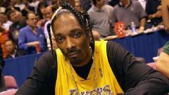 Indosport - Penyanyi rap Amerika yang merupakan pendukung setia tim basket Los Angels Lakers