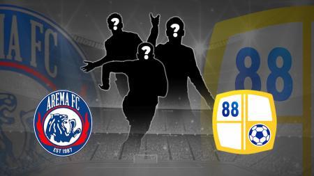 Penuhi kuota pemain asing, siapa yang termahal antara Arema FC vs Barito Putera. - INDOSPORT