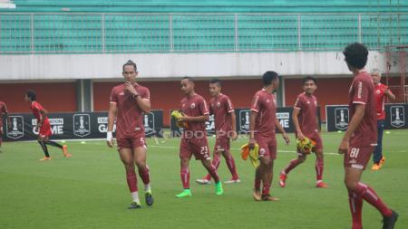 OT Persija Jakarta di Stadion Maguwoharjo. - INDOSPORT