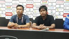 Indosport - Foto preskon Persita vs Persela