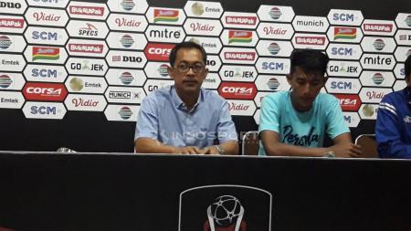 Preskon Persita Tangerang vs Persela Lamongan. - INDOSPORT