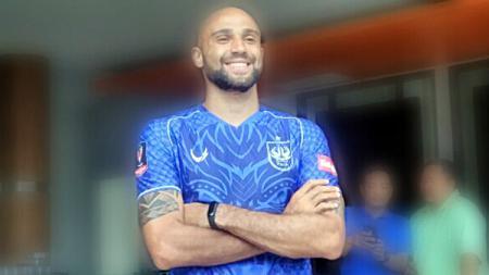 Claudir Marini Junior, penyerang asing PSIS Semarang untuk Liga 1 2019. - INDOSPORT