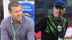 Indosport - Miljan Radovic dan Mario Gomez.