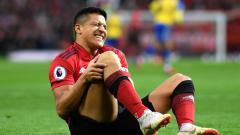 Indosport - Sanchez diprediksi akan absen selama 2 bulan karena mengalami cedera lutut