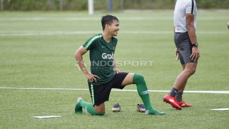 Pemain Timnas Indonesia U-23, Witan Sulaeman, masuk dalam daftar 20 nama untuk SEA Games 2019. - INDOSPORT