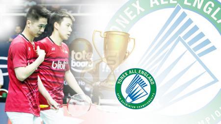 Menakar peluang ganda putra Indonesia di All England 2019. - INDOSPORT