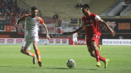 Pertandingan Persija Jakarta vs Borneo FC. - INDOSPORT