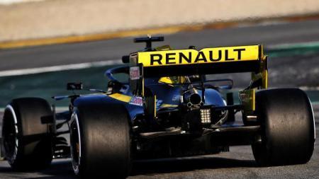 Mobil Renault yang diyakini akan memberikan perlawanan sepanjang musim Formula 1 2019. - INDOSPORT