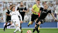 Indosport - Real Madrid vs Ajax Amsterdam.