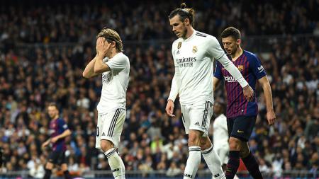 Real Madrid dipastikan tengah menghadapi