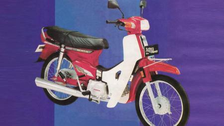 Honda Astrea Prima. - INDOSPORT