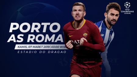 Prediksi Porto vs AS Roma. - INDOSPORT