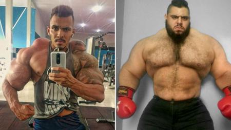 Dua petarung MMA yang di juluki Hulk - INDOSPORT