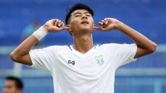 Indosport - Striker Persela Lamongan, Malik Risaldi