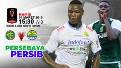 Indosport - Pertandingan Persebaya vs Persib Bandung