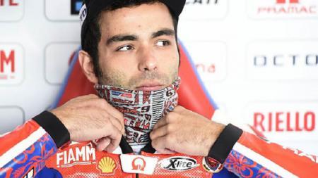 Danilo Petrucci mengungkapkan curahan hatinya usai didepak oleh Ducati Team, lantaran posisinya digantikan oleh Jack Miller pada MotoGP 2021 musim depan. - INDOSPORT