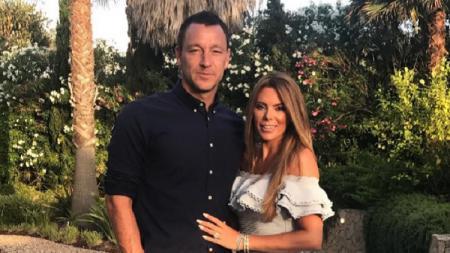 Legenda Chelsea, John Terry dan istrinya, Toni. - INDOSPORT