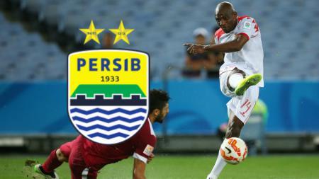 Striker asing naturalisasi, Jaycee John Okwunwanne yang bisa didatangkan Persib Bandung untuk Liga 1 2019. - INDOSPORT