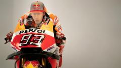 Indosport - Marc Marquez sempat menjadi yang pertama di FP2 MotoGP Inggris 2019 sebelum akhirnya tergusur ke posisi dua oleh Fabio Quartararo.