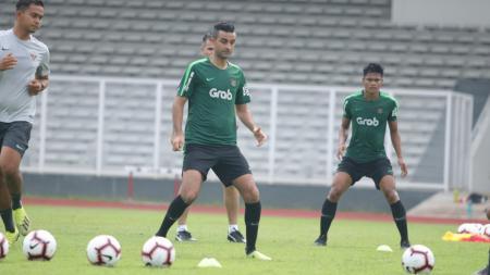 Bek naturalisasi Otavio Dutra dipastikan bergabung ke timnas Indonesia jelang matchday 4 Kualifikasi Piala Dunia 2022 Grup G, Selasa (15/10/19). - INDOSPORT