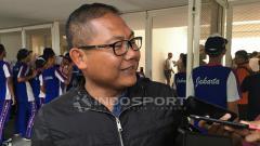 Indosport - Manajer Bhayangkara FC, Sumardji merasa kecewa dengan hasil pertandingan PSM Makassar vs Bhayangkara FC.