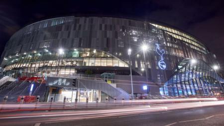 Stadion baru Tottenham Hotspur. - INDOSPORT