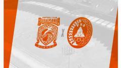 Indosport - Logo Borneo FC vs PSS Sleman