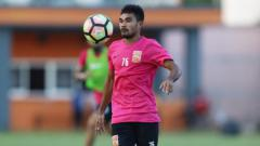 Indosport - Winger Borneo FC Rifal Lastori.