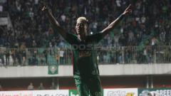 Indosport - Pemain PSS Sleman, Kushedya Hari Yudo, angkat bicara soal laga pembuka kompetisi sepak bola Shopee Liga 1 2019. Ronald Seger/INDOSPORT.
