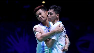 Fajar/Rian pastikan tiket ke semifinal All England 2019 - INDOSPORT