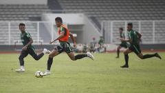 Indosport - Suasana internal game pemain Timnas Indonesia U-23.