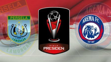 Persela Lamongan vs Arema FC, pertandingan kedua Grup E Piala Presiden 2019, Sabtu (09/03/19). - INDOSPORT