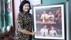 Indosport - Imelda Wigoena, legenda badminton Indonesia ini sempat mendominasi gelaran All England dengan juara di dua nomor sekaligus.