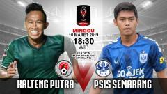 Indosport - Pertandingan Kalteng Putra vs PSIS Semarang.