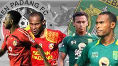 Indosport - Romantisme Pemain Papua  Bersama Semen Padang dan Persebaya Surabaya