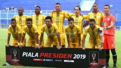 Indosport - Skuat Barito putera