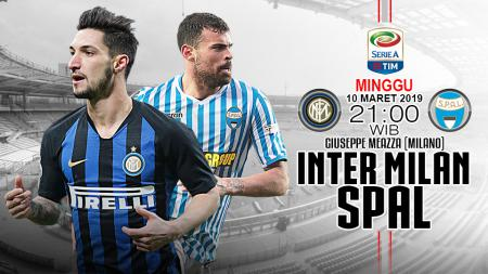 Pertandingan Inter Milan vs SPAL 2013. - INDOSPORT