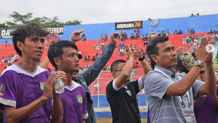 Pelatih Persita, Widodo Cahyono Putro. Copyright: persita.official
