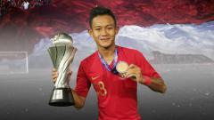 Indosport - Gelandang Timnas Indonesia U-22 , Sani Rizki Fauzi