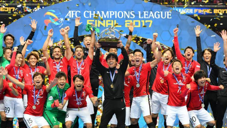 Takafumi Hori Saat Raih Gelar Liga Champions Asia 2017 Copyright: AFC