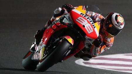 Jorge Lorenzo, pembalap MotoGP dari tim Repsol Honda. - INDOSPORT