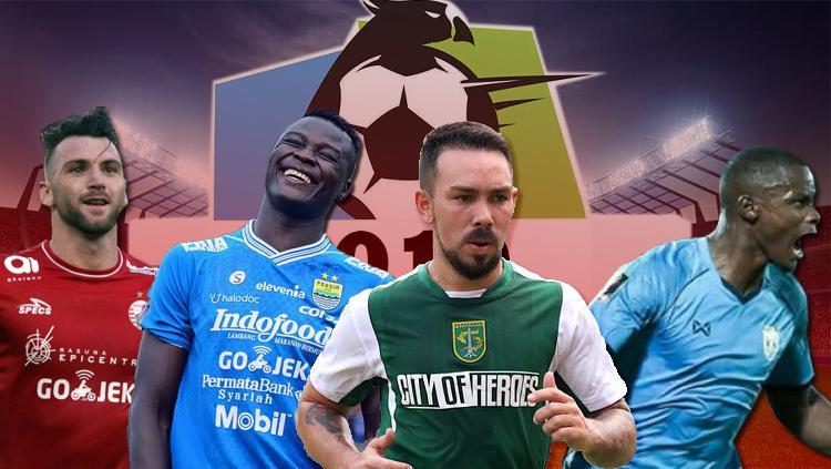 4 Klub Liga 1 2019 yang Masih Punya Kuota Pemain Asing Copyright: INDOSPORT/Yooan Rizky Syahputra